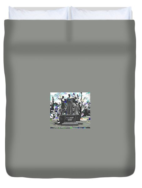 University Of Illinois  Duvet Cover