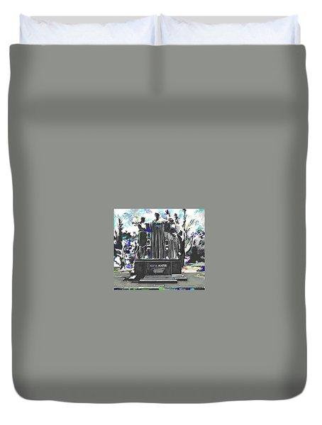 University Of Illinois  Duvet Cover