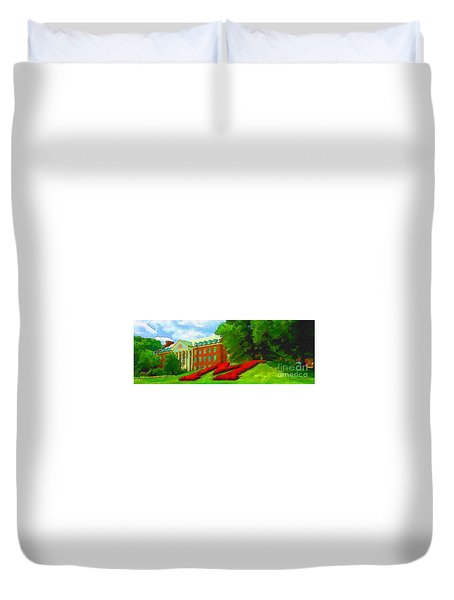 University Of Maryland  Duvet Cover