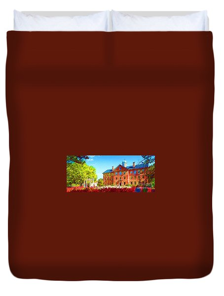 University Of North Carolina  Duvet Cover