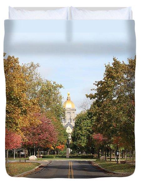 University Of Notre Dame Duvet Cover