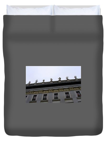 University Of Vienna Duvet Cover