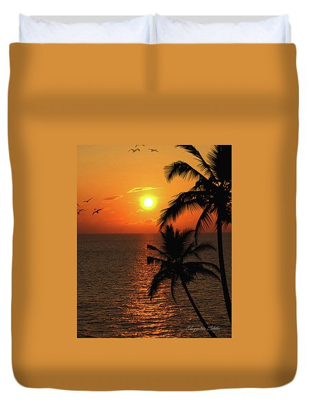 Unknown Paradise Duvet Cover