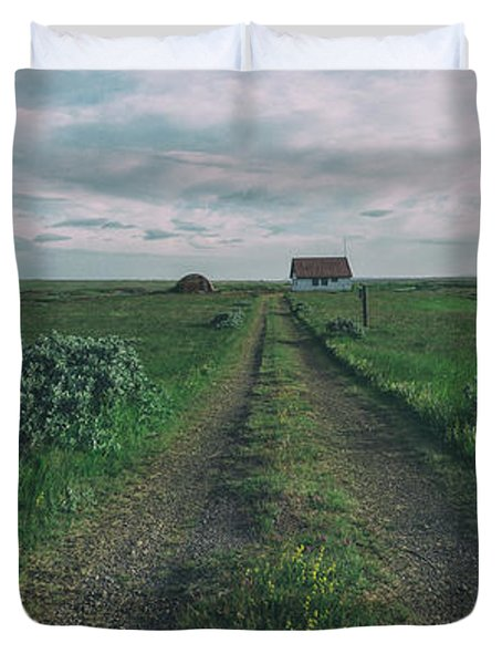 Unknown Road Duvet Cover
