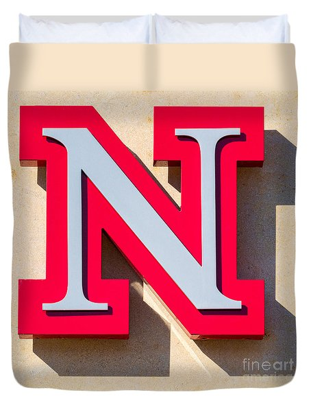 UNL Duvet Cover by Jerry Fornarotto