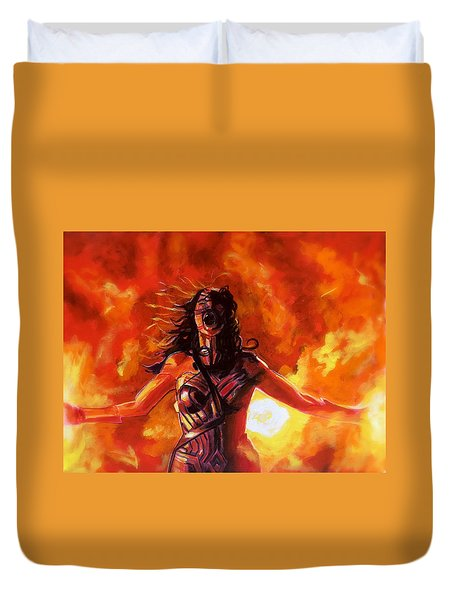 Unleashed Duvet Cover