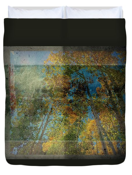 Duvet Cover featuring the photograph Unmanned by Mark Ross