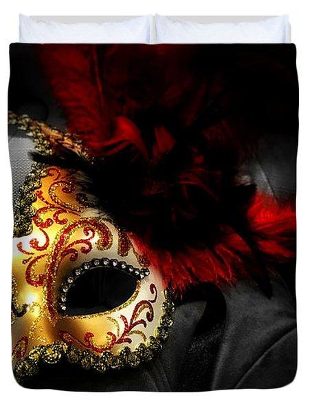 Unmasked Duvet Cover