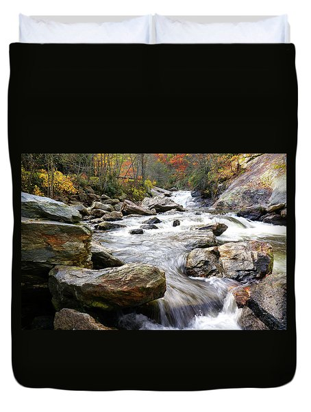 Unnamed Waterfall Duvet Cover