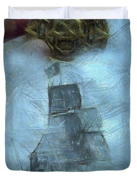 Unnatural Fog Duvet Cover by Benjamin Dean