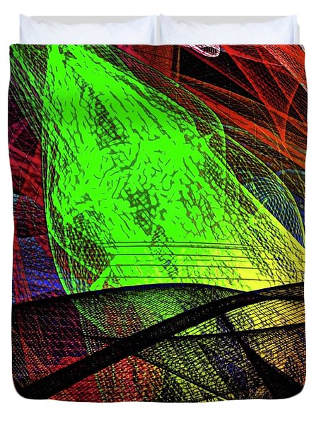 Unraveled 1 Version 2 Duvet Cover