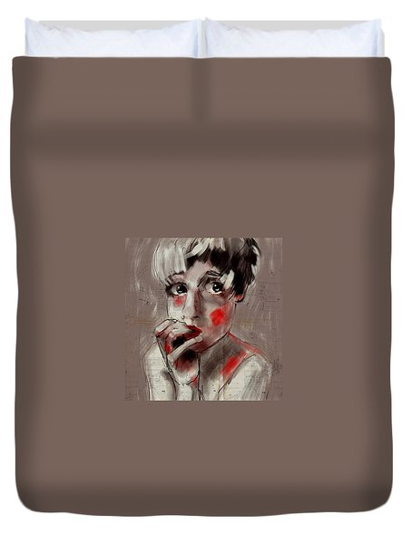 Unsure Duvet Cover by Jim Vance