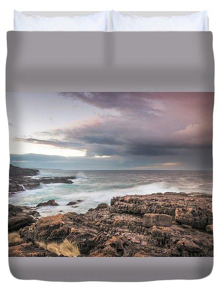Untamed Coast Duvet Cover