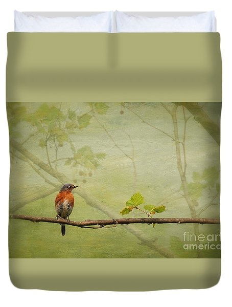 Until Spring Duvet Cover