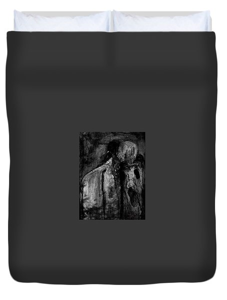 Duvet Cover featuring the digital art Untitled 06june2015 by Jim Vance