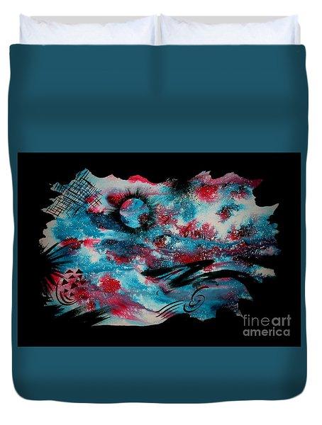 Untitled-100 Duvet Cover