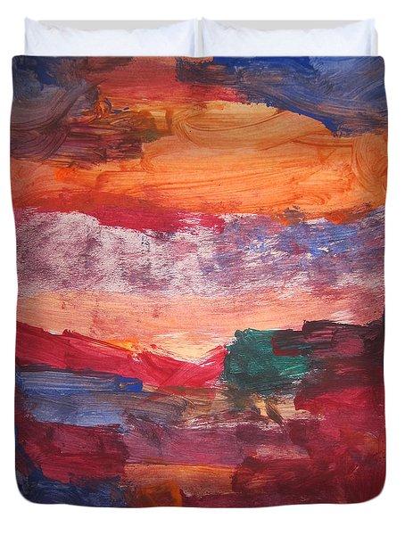 untitled 109 Original Painting Duvet Cover