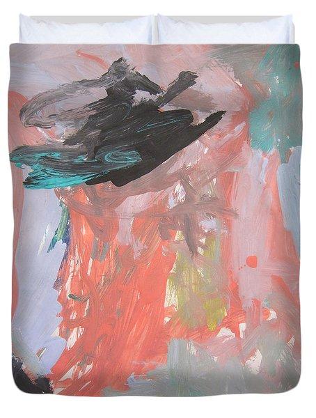 Untitled #11  Original Painting Duvet Cover