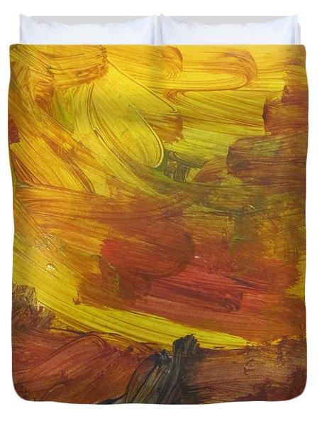 Untitled 117 Original Painting Duvet Cover