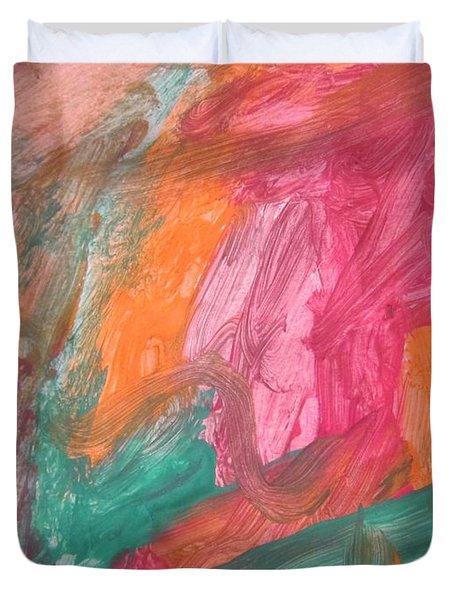 Untitled 119 Original Painting Duvet Cover