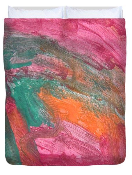 Untitled 121 Original Painting Duvet Cover