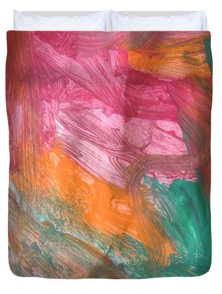 Untitled 122 Original Painting Duvet Cover