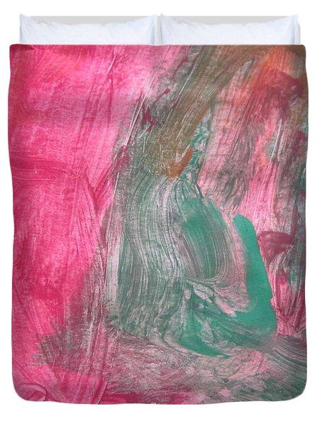 Untitled 123 Original Painting Duvet Cover