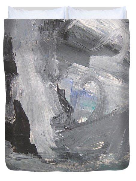 Untitled 124 Original Painting Duvet Cover