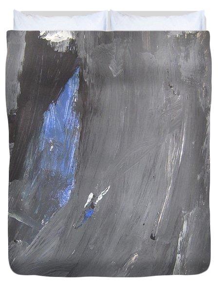 Untitled 125 Original Painting Duvet Cover