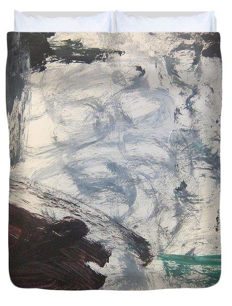 Untitled 127 Original Painting Duvet Cover