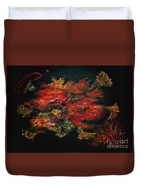 Untitled-134 Duvet Cover