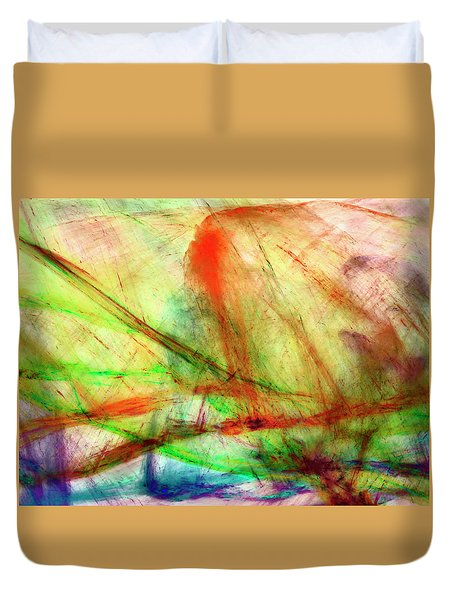 Untitled #140922, From The Soul Searching Series Duvet Cover