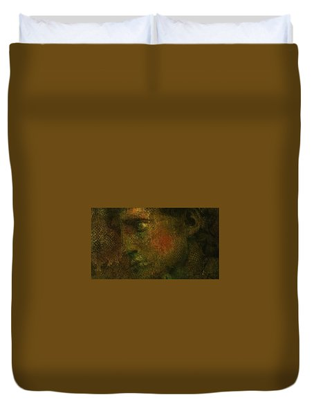 Duvet Cover featuring the digital art Untitled 18june2015 by Jim Vance