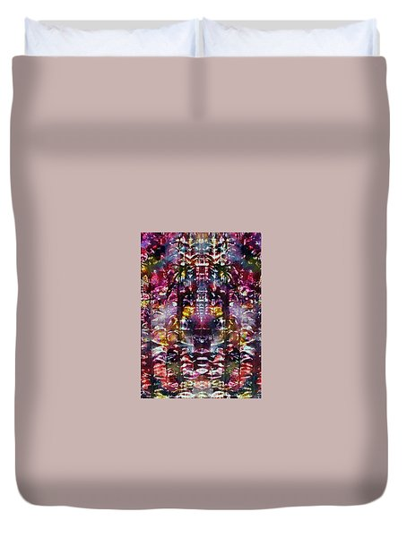 2-offspring While I Was  On The Path To Perfection 2 Duvet Cover
