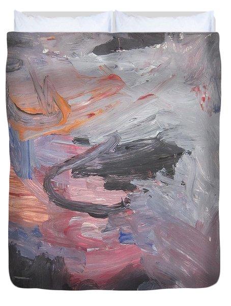 Untitled #35  Original Painting Duvet Cover