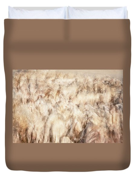 Untitled #3939, From The Soul Searching Series Duvet Cover