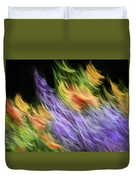 Untitled #8080208, From The Soul Searching Series Duvet Cover
