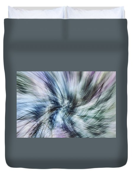 Untitled #8380, From The Soul Searching Series Duvet Cover