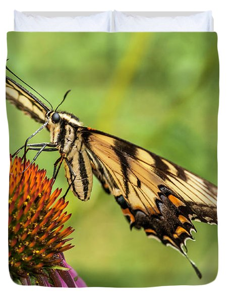 Untitled Butterfly Duvet Cover