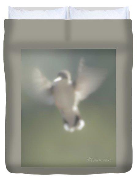 Untitled Hummingbird Duvet Cover