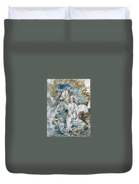 Dreams Duvet Cover by Khalid Saeed
