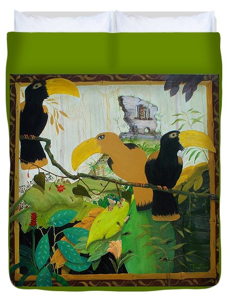 Jungle Boogie 2 Duvet Cover by Patrick Trotter