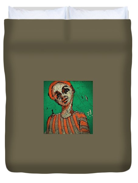 Untitled Portrait 17dec2015 Duvet Cover by Jim Vance
