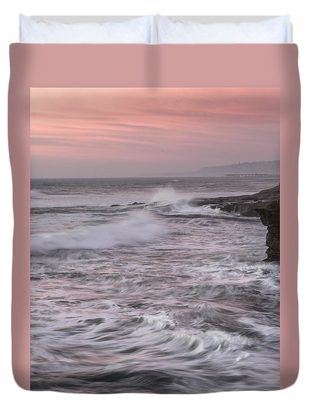 Duvet Cover featuring the photograph Untitled by Ryan Weddle