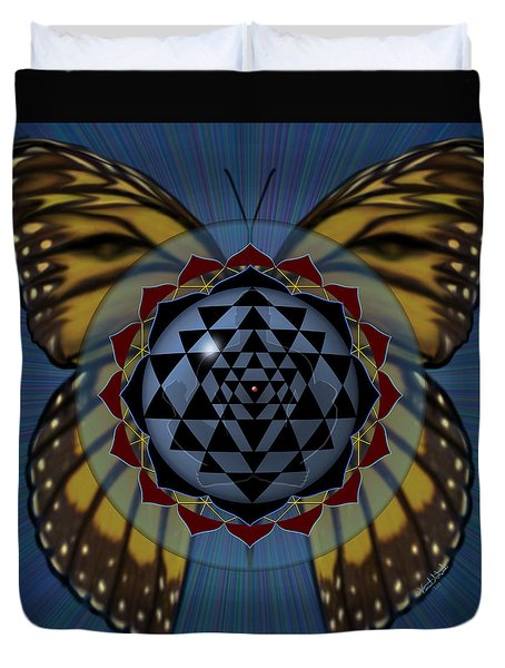 Transforming Meditation Duvet Cover