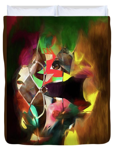 Untitled Work No. 3 Duvet Cover