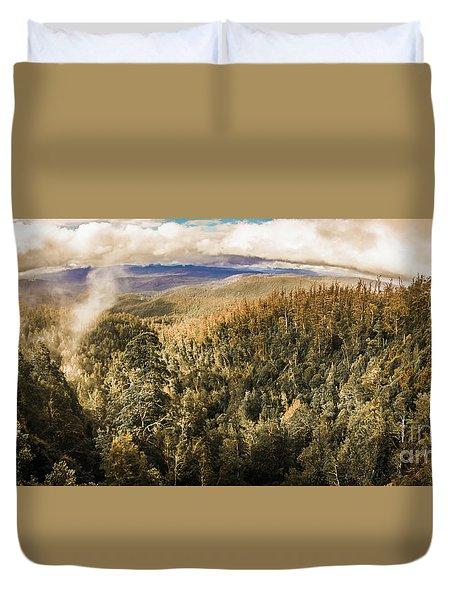 Untouched Wild Wilderness Duvet Cover