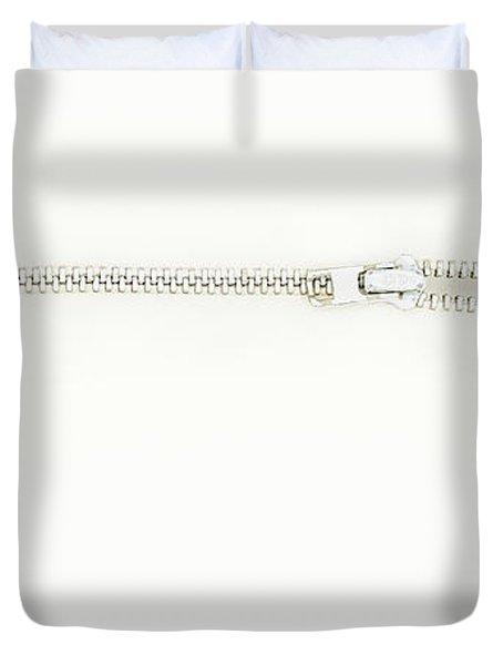 Unzipping Duvet Cover