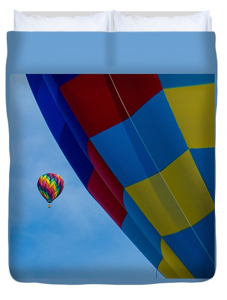 Up And Away 1 12x12 Duvet Cover