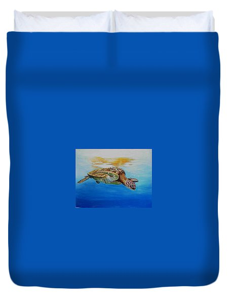 Up For Some Rays Duvet Cover